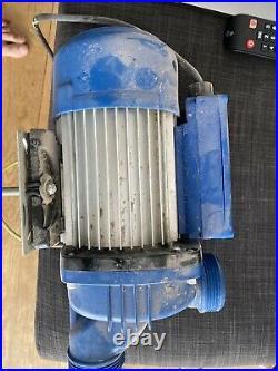 Electric Pump Hot Tub Swimming Pool 125 hp 0.90 230v Aerospa Whirlpool Jacuzzi