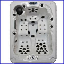 Hot Tub Outdoor Bathtub Spa Jacuzzi 51 Massage Jets Whirlpool Bath 3-4 Person