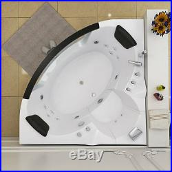 Indoor 2 Person Whirlpool Bath Tub Hydro-Therapeutic Jacuzzi 1520 x 1520 x 620mm