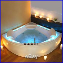 Indoor 2 Person Whirlpool Bath Tub Hydro-Therapeutic Jacuzzi 600 x 1600 x 1600mm
