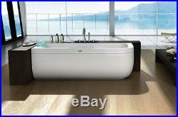 Jacuzzi Aquasoul Single ended whirlpool bath 170x70 9443469A