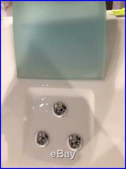 Jacuzzi Aquasoul Whirlpool 1900 x 900 double ended bath & panel (cut) and lights