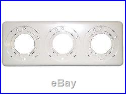 Jacuzzi Whirlpool Bath Air Control & On/Off Panel, Complete (White) G107940