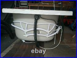 Jacuzzi Whirlpool Zeya P Shape Premier Bath 1500 800 Lights Shower Screen Panels