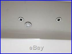 Jacuzzi whirlpool spa Bath 1700mm lengh x 800 width at max