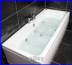 Jenny Double Ended Whirlpool Bath 6 Jet Jacuzzi Type Spa 1700 x 700mm Square