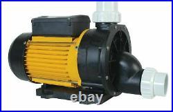LA TDA200 Hot Tub Pump Single Speed Spa Motor Bath Pump Jacuzzi Whirlpool