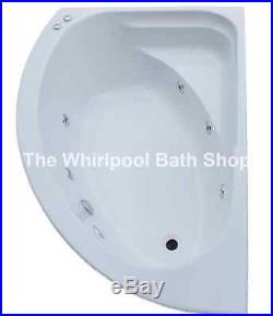 LH Orlando Trojan SuperCast 6 Jet Whirlpool Offset Corner Bath 1500x1000 Jacuzzi