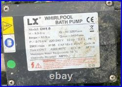 LX DH1.0 Hot Tub Pump Spa Circulation Motor Bath Pump Jacuzzi Whirlpool