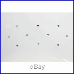 L Shape 1700x900 LH Whirlpool Jacuzzi Bath Jets Ozonator Front Panel & Screen