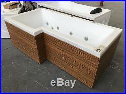 L Shape Jacuzzi Spa Jets Lights Massage Bath whirlpool