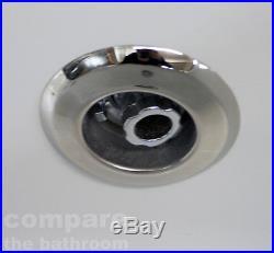 L Shape Whirlpool Showerbath Jacuzzi Style Jets with Return Panel Bath Screen