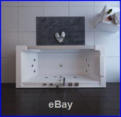 Luxury 1 Person Whirlpool Bath Tub Hydro-Therapeutic Jacuzzi 600 x 1700 x 750mm