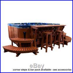 Luxury Antigua Hot Tub Ipod / Mp3 Jacuzzi Spa Hot Tubs Whirlpool Bath Rrp £5999