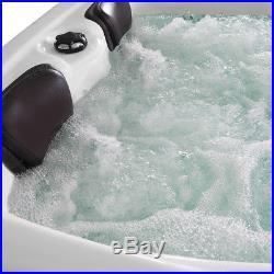 Luxury Jacuzzis Massage Hot Tubs(2+1)Seat Whirlpool Bath With 51Massage Jet 6016