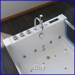 Luxury Whirlpool Bath 20 Jacuzzi Massage Jets Shower SPA 2 Person Bathtub 6181M