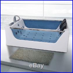 Luxury Whirlpool Bath Shower Spa 2 Person Jacuzzis Bathtub With 20 Jets SICILY