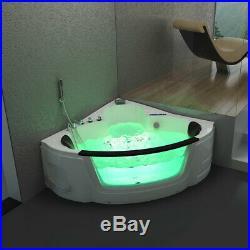 Luxury Whirlpool Spa Acrylic Bath Jacuzzis Massage Corner Double Bath 1350mm