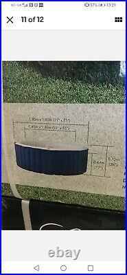 MSPA Lite Whirlpool Inflatable 4-Person Hot Tub Spa Jacuzzi