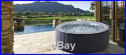 MSPA Silver Cloud Inflatable Jacuzzi Hot Tub Spa Whirlpool 4 Person Remote Jets