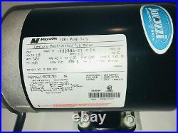 MagneTek Jacuzzi Whirlpool Jetted Tub Motor 1081 Pump Duty 3/4 HP 3450 RPM Great