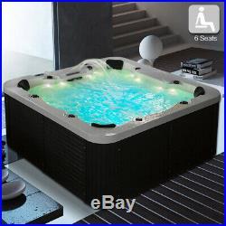 Modern 3KW Hot Tub Spa Jacuzzis whirlpool Bath(5+1)seats Indoor/Outdoor Use 6013