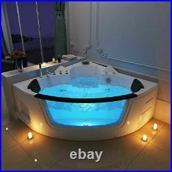 Modern Bathroom Whirlpool Shower Spa Jacuzzi Massage Corner 2 person Bathtub