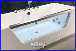 NEW 2018 WHIRLPOOL BATH 1600mm x 800mm-Jacuzzi Jets-Massage-FLORENCE