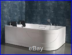 NEW 2018 WHIRLPOOL BATH 1700mm x 1200mm Jacuzzi JetsSORRENTO- FREE P&P