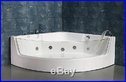 NEW 2018 WHIRLPOOL JACUZZI CORNER BATH JETS-1350mm x 1350mm-VENICE-FREE DEL