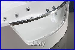 NEW 2018 WHIRLPOOL JACUZZI SPA CORNER BATH JETS- 1500mm x 1500mmSICILY