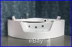 NEW 2018 WHIRLPOOL JACUZZI SPA CORNER BATH JETS-1500mm x 1500mm-FREE DEL-SICILY