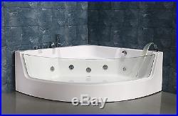 NEW 2018 WHIRLPOOL JACUZZI SPA CORNER BATH JETS-1500mm x 1500mm VENICE