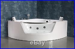 NEW 2018 WHIRLPOOL JACUZZI SPA CORNER BATH JETS MASSAGE- 1400mm x 1400mmSICILY