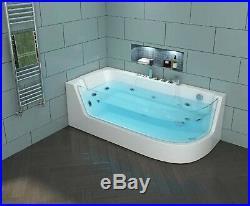 NEW 2019 WHIRLPOOL CORNER BATH 1700mm x 800mm-Jacuzzi Jets Massage Spa-VERONA