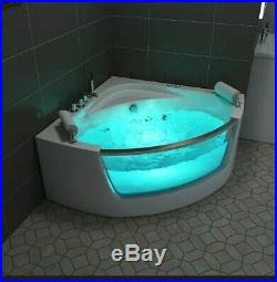 NEW 2019 WHIRLPOOL CORNER BATH-JACUZZI JETS MASSAGE SPA-1350mm x 1350mmSICILY