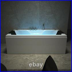 NEW 2020 PISA WHIRLPOOL BATH-1800mm x 900mm-Jacuzzi Jets Massage-FREE DELIVERY