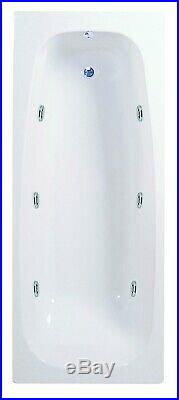 NEW Whirlpool Bath Shower Spa Jacuzzis 6 Massage jets Bath 1700 x 700mm
