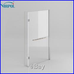 NOBS9 L Shaped Right Hand Whirlpool Shower Spa Jacuzzis Square Bathtub 8 JET
