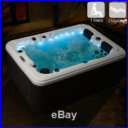 New Design Luxury Hot Tubs Spa Jacuzzis Whirlpool Outdoor Bathtub With 51 Jets