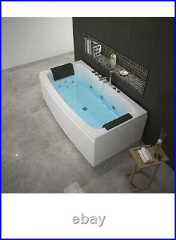 New Platinum Spas Sardinia 1 Person Whirlpool Bath Tub jacuzzi With 2 Pillows