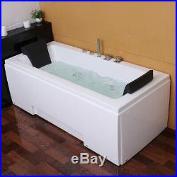 New Whirlpool Shower Spa Jacuzzis Massage Corner 2person Bathtub 1700MM