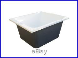 Oriental Deep Soaking Japanese Style Bath 1100 x 1100 Whirlpool Jacuzzi Options