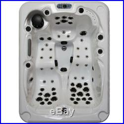 Outdoor Bathtub Hot Tubs Spa Jacuzzi 51 Massage Jets Whirlpool Bath 3-4 Person