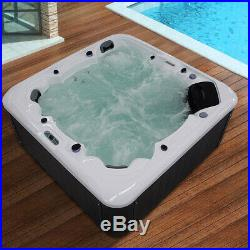 Outdoor Whirlpool Hot Tub Spa Jacuzzis Bathtub For 6 Person With 2Seats+1Lounger