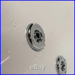 Phoenix Crystal 1200 x 700mm 24 Jet Whirlpool / Jacuzzi Bath