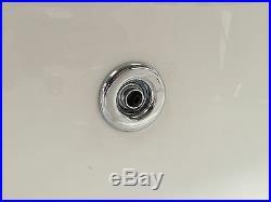 Phoenix Crystal 1400 x 700mm 12 Jet Whirlpool / Jacuzzi Bath