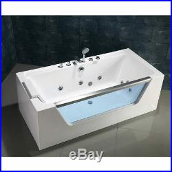 Platinum Spas Florence 1 Person Whirlpool Bath Tub / Jacuzzi in 3 Sizes