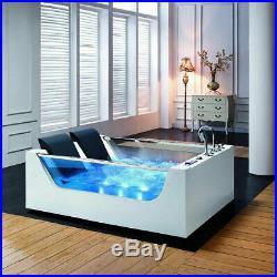 Platinum Spas Luxury 2 Person Whirlpool Bath Tub Spa Jacuzzi Massage LED Light