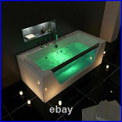 Platinum Spas Whirlpool Bathtub Jacuzzi with Massage Jets, White